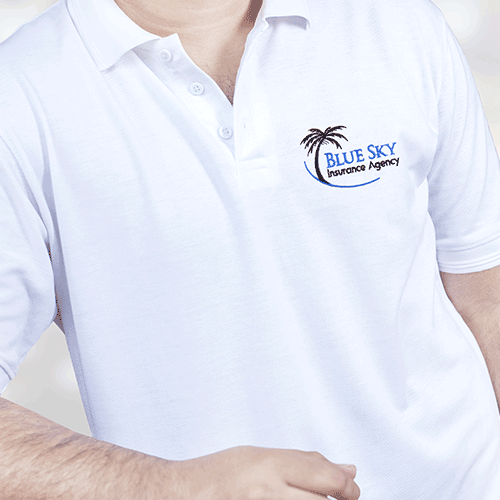 Shirts With Embroidered Logo