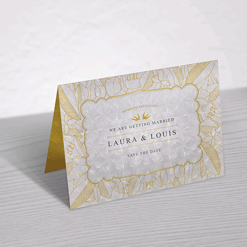 Invitation Cards Premium Finishes - Digital