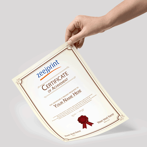 Certificates Premium Material - Digital