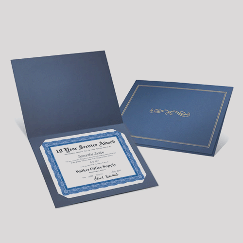 Certificates Jackets Standard - Digital