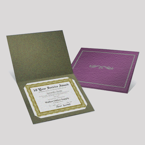 Certificates Jackets Premium Material - Digital