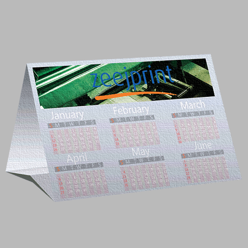 Tent Calendars Premium Material - Digital