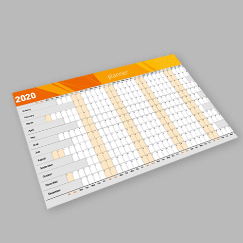 Annual Planner - Digital