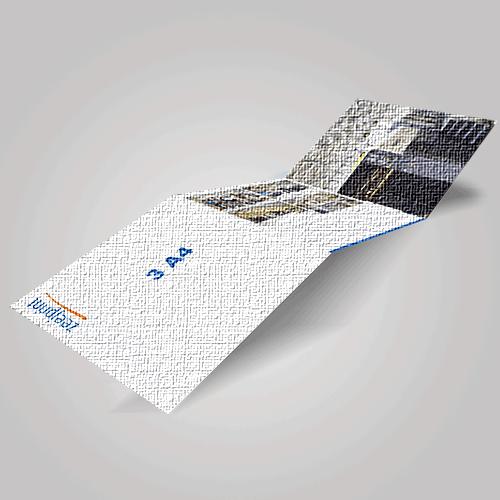 Brochures Premium Material 3A4 - Digital