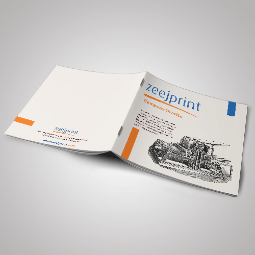 Booklet with Cover - Offset