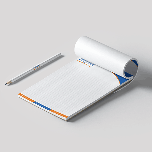 Notepad with Cover - Digital