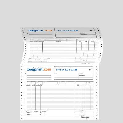 Computer Invoice (1+ 2) 4 Color