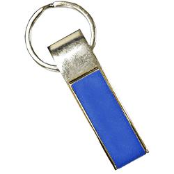Rectangle Keychain Blue