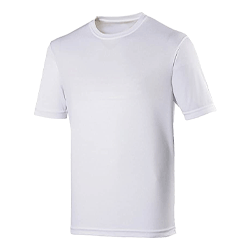 T-Shirt White Large