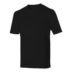 T-Shirt Black Large