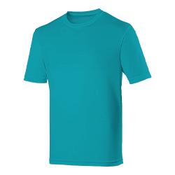 T-Shirt Cyan Large