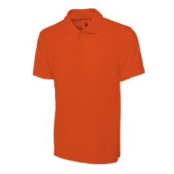 Polo Shirt Orange Large