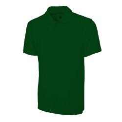 Polo Shirt Dark Green Large