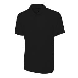 Polo Shirt Black Large