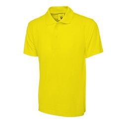 Polo Shirt Yellow Large