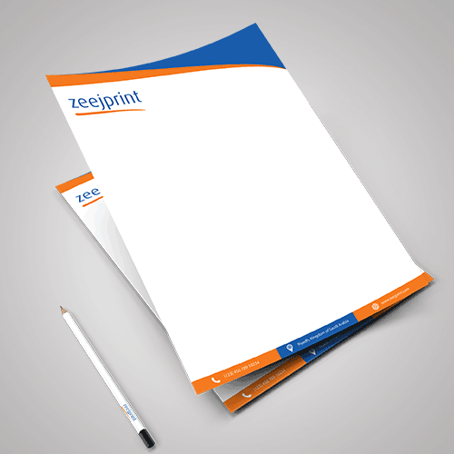 Letterhead Loose Sheets - Digital