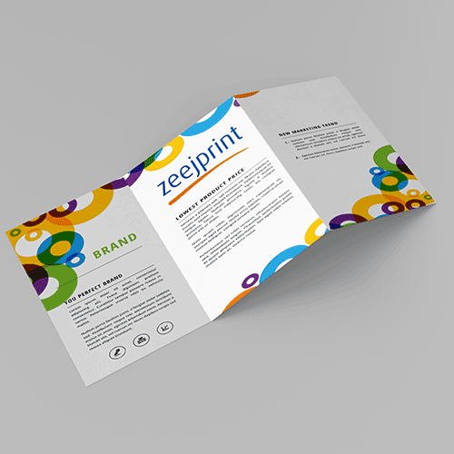 Brochures Premium Finishes 3A4 - Digital