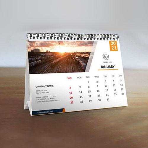 Desk Calendar - Offset