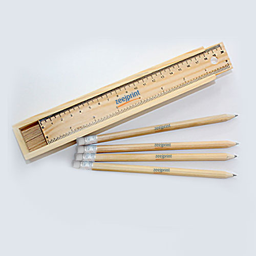 Pencil with Wooden Box