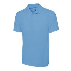 Polo Shirt Light Blue Large