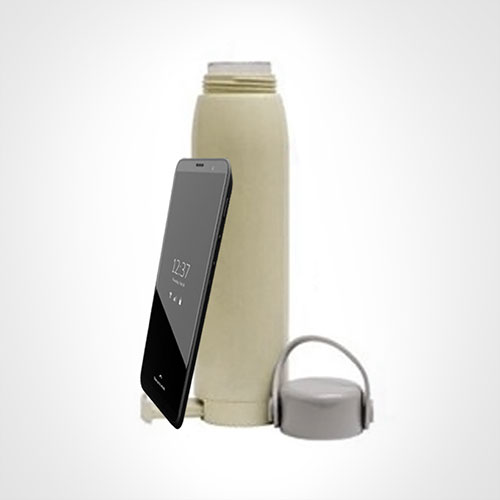Water bottle with Phone stand