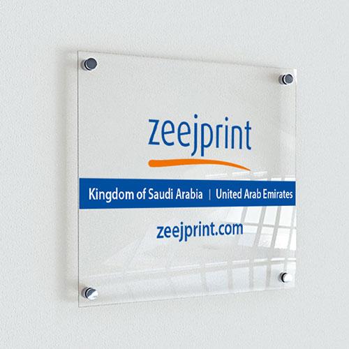 Acrylic Display 120 x 80cm 5mm