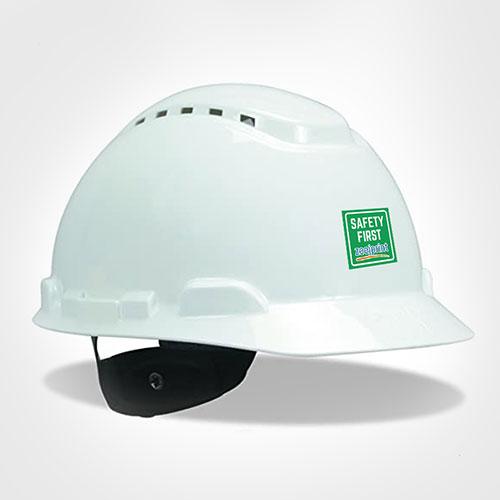 3M Helmet White color