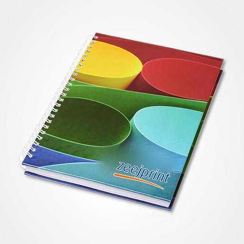 Notebook with Hard Cover - Offset