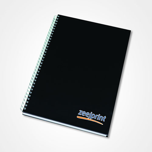 Notebook with Hard Cover - Digital